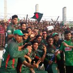 Great scenes of joy for hosts Bangladesh who finish in a best ever 3rd place here at #U19CWC https://t.co/hbXTuqgE9H