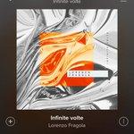 #InfiniteVolte è la canzone italiana più ascoltata di ieri su @SpotifyItaly!🎉🎉 ascoltala qui https://t.co/lU5dn78I2d https://t.co/wAcHSgrE44