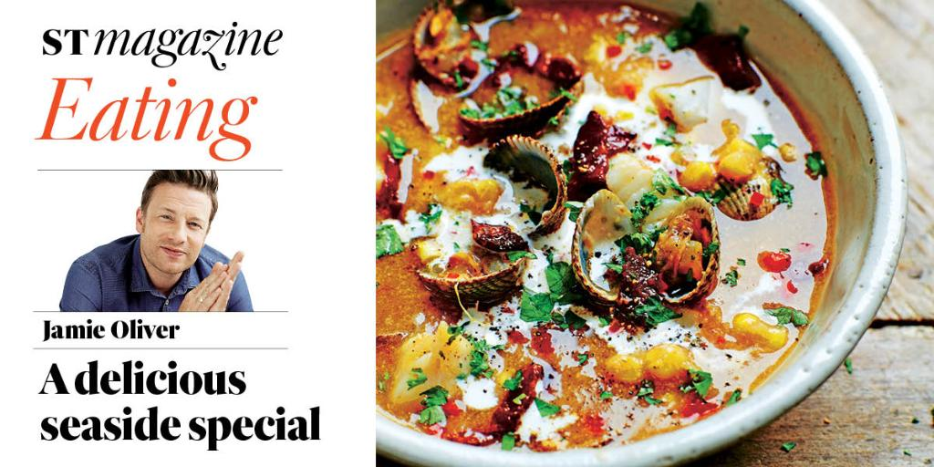 RT @TheSTMagazine: New look: out this Sunday with our brand new Life section #STLife – including #Eating with @jamieoliver https://t.co/zyY…