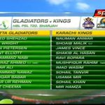 Karachi Kings & Quetta Gladiators Teams. https://t.co/ZLTex2a4T0