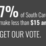 52% of workers in South Carolina are paid less than $15. Wed like to hear that discussed at #GOPDebate #FightFor15 https://t.co/9jUHBQ6tpa