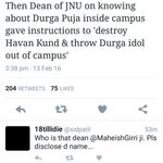 BJP MP is spreading communal frenzy against JNU after it was proved that ABVP activists raised Pakistan Zindabad https://t.co/Nm54B1VG5o
