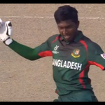 """WATCH: First we had the """"Springer Dance"""", now we have the """"Bangla Shake"""" at #U19CWC https://t.co/l9iggPvduF https://t.co/BzzFNkWgm8"""