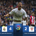 #LaLiga - RESULT: Despite being reduced to 10-men, Real Madrid ran out comfortable winners over Bilbao. #SSFootball https://t.co/ZIhZf2aqpI