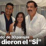 #SanValentín: Alcalde Nebot casó a 30 parejas en matrimonio masivo en #Guayaquil » https://t.co/UMxXtSFG1U https://t.co/BF2572DhLz