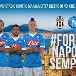 #JuveNapoli, calcio dinizio ore 20.45: noi siamo pronti! #ForzaNapoliSempre https://t.co/KnS69fN28v