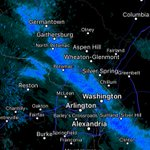 "Snow continues along i270 corridor through DC. Up to an 1"" poss, but should taper next hour https://t.co/9yRioCm9KZ"