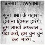 If campuses r used to support terrorist then pls #ShutDownJNU #देशद्रोह_बर्दाश्त_नहीं https://t.co/uf1hLQ2jJq