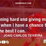 .@Joao_Teixeira17 is keen to make the most of his first-team chances #LFC https://t.co/GKDZCyazxJ https://t.co/a63c4PSRND