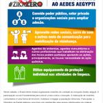 A participação de todos é fundamental para vencer a luta contra o mosquito, participe! #ZikaZero https://t.co/M3ipDawKcC