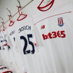 The #SCFC dressing room is set. The Potters will be wearing their one-off white third kit this afternoon. https://t.co/dadKfKFqbD