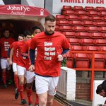 #NFFCs players are wearing @SRTRC_England t-shirts in todays warm-up. https://t.co/ZjA9XnLQQi