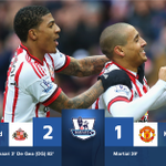 #BPL - RESULT: More trouble for LVG? A De Gea own goal gives Sunderland a deserved win over Man United. #SSFootball https://t.co/bpPV8o5yBY