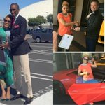 """Pastor Eubert buys wife a Lamborghini @ R7,5 mil for Valentines day. Let that sink in when you give 10% to """"God"""" https://t.co/35jXSECNu4"""
