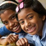"""""""I love school because I get to play and I get to learn"""" Shushmita, 7, from #Bangladesh. https://t.co/04o6FtEPVG"""