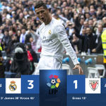 #LaLiga - HT: Two wonderful goals late in the half put Real Madrid firmly in control at the break. #SSFootball https://t.co/mzqzbOagY0