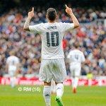 ¡@jamesdrodriguez celebrando el gol del desempate!   #RMLiga #HalaMadrid https://t.co/wtJLxLuabM