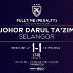 #PialaSumbangsih2016 milik JDT selepas menang 7-6 penalti shootout di Stadium Larkin. Tahniah JDT! https://t.co/JkauG7CoA9