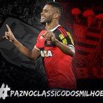 Alô @Flamengo estou na campanha #PazNoClassicoDosMilhoes ✌????️???????? que seja um grande jogo!!! https://t.co/4taUNiIpy2