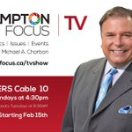 Watch Brampton Focus on Rogers Television! Mondays at 4:30 pm with Michael A. Charbon. @BramptonFocus @RogersTVPeel https://t.co/inWFAd3wAm