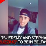 "Stephanie Davis and Jeremy McConnell are ""buzzing"" as they greet fans in Belfast https://t.co/pgO5Gb31Oi https://t.co/H0Wi5kGOSq"