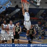 #GameDay! @IPFWBasketball welcomes Denver to the Gates Sports Center tonight at 7 p.m. #IPFWmbb #GoDons #3Nation https://t.co/cugjyBswL9