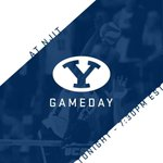 GAMEDAY | BYU TAKES ON NJIT AT 7:30PM EST/ 5:30PM MST WATCH THE GAME LIVE ON ESPN3 #BYUMVB #GoCougs #RiseUp https://t.co/GEuNlwL93U