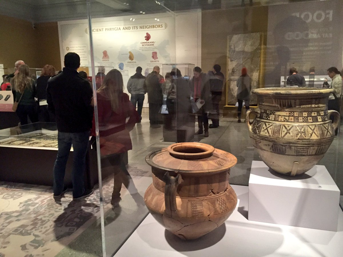 """""""The Golden Age of King Midas"""" is now open. Come and explore! #MidasInPhilly https://t.co/6bGDaxvuGA"""