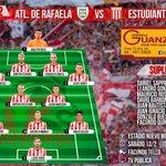 #EDLP Los 11 Leones que buscarán los tres puntos contra Atlético Rafaela. #VamosPincha #SiempreJuntoAlLeon. https://t.co/zeGIzXLgOt