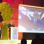 #UbuntuAwards President Jacob Zuma takes the stage and starts his speech with a small joke. @TheCapeArgus @IOL https://t.co/GkknzzGkwK