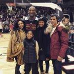 Family photo for #KobeBryants 18th and final @NBAAllStar! #NBAAllStarTO #LeanInTogether https://t.co/6yAY6FWKlq