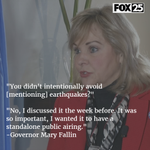 VIDEO: I questioned Gov. Fallin on why she didnt mention earthquakes in state of the state https://t.co/65N6o4AeQO https://t.co/OEXYOjqZvF