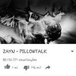 O vídeo de PILLOWTALK Acústico tem 1.127.944 visualizações O clipe de PILLOWTALK tem 80.132.771 visualizações https://t.co/mAkv22cD91