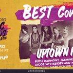 Congrats @JASMINEVILLEGAS @JacobWhitesides @MahoganyLOX & @FifthHarmony! VOTE #UptownFunk #iHeartAwards #BestCover https://t.co/KhEmeFPwdr