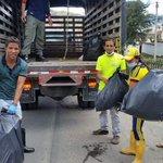 Comunicadores Sociales de @Pamplona_NdS se unen a la jornada de limpieza de nuestro afluente hídrico-río Pamplonita https://t.co/nDhrS1q8wi