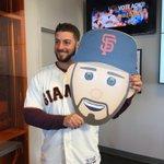 George, meet your own emoji ???? #SFGFest | #SFGiants https://t.co/BlWA1jWrOn