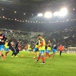 #JuveNapoli, azzurri in campo per il riscaldamento! #ForzaNapoliSempre https://t.co/F2JTPCYWPT