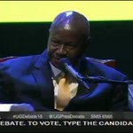 """""""@jumuiya"""" Unity is about 2 things 1)Prosperity of our people thru production and 3) Strategic Security! #UGDebate16 https://t.co/XECeHTe3Go"""