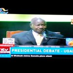 Congratulations to President #Museveni of Uganda for accepting to take part in Presidential debate 2016 #UGDebate16 https://t.co/8zTBFYvaKe