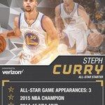 Stephen Curry will be making his 3rd start as an All-Star at #NBAAllStarTO - Tomorrow night only on TNT https://t.co/ZLzwWjIkEN