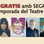 Voleu saber tota la programació de @TeatreLlotja #Lleida fins al juny? Demà, 14 de febrer, gratis amb @SEGREcom https://t.co/ybICxBCMDL