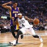 Isaiah Thomas calls Kobe Bryant 'greatest player of my generation.' https://t.co/zWbHTFlymv https://t.co/6N8IIWYxV8