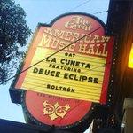 Estamos listos para tocar en el @GAMH!!!! Hoy SF bailará a ritmo de cumbia y rock!!!! 🎤 https://t.co/P7ViPxPjdu