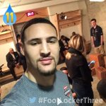 Splash brother no. 1, #KlayThompson!#FootLockerThree #NBAAllStarTO cc. @KlayThompson https://t.co/HzxsYxFtjb