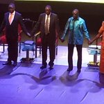 Justice Ogoola: We will not forget picture of candidates holding hands. Its a picture of the century #UGDebate16 https://t.co/Y3M3ODBoqS