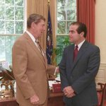 President Reagan appointed Justice Antonin Scalia (1936-2016): #NARA https://t.co/G2BsDqAD1i
