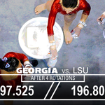 Another one.   The Gymdogs defeat No. 5 LSU! Thanks to the 9,577 who came out to help fill the Steg!  #GoDawgs https://t.co/rtBAhYG1FI