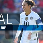 Lloyd now has scored 21 goals in the last 16 matches for USA dating back to the WWC Round of 16 match vs. Colombia. https://t.co/TWJAR4o4IV