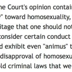 Scalia equating disapproval of homosexuality with disapproval of murder, cruelty to animals. https://t.co/BH9Biaa4Ju https://t.co/HgR0Y1ZNLQ