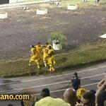 El festejo de Murillo en su primer gol en Peñarol https://t.co/IXFfKiHGHt